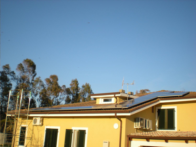 Installazione Pannello Solare ad Alghero in abitazione residenziale