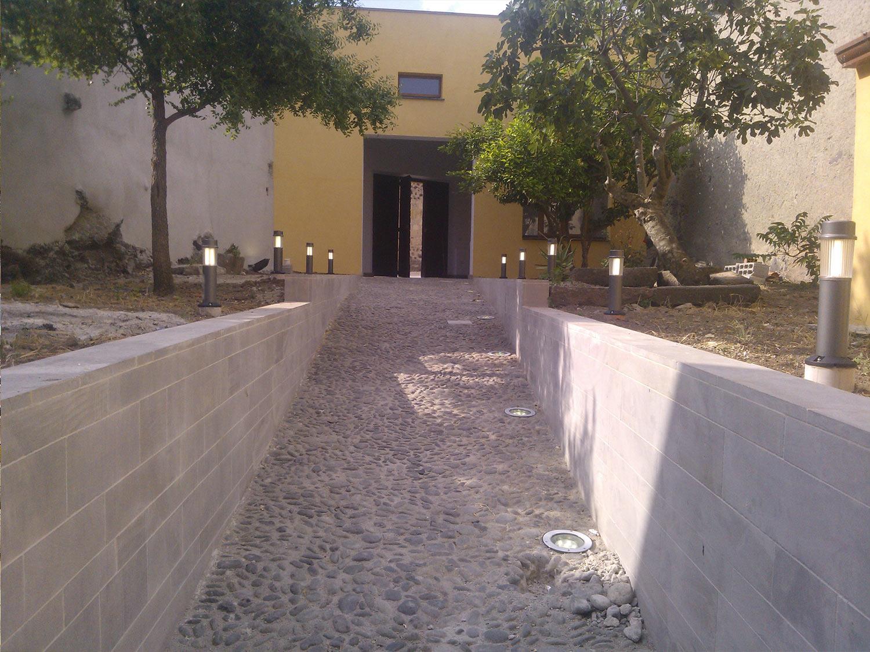 Lavoro di Ristrutturazione di un Giardino residenziale