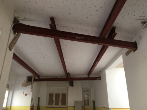 safety-energy-Rinforzo strutturale Scuola Alghero